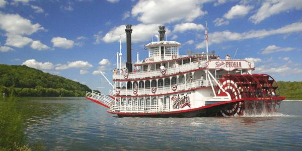 Riverboat in Peoria, IL