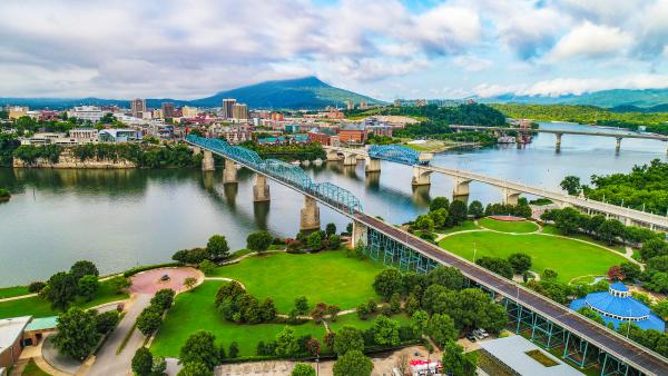 Chattanooga aerial photo