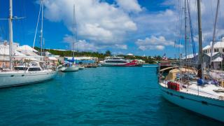 Bermuda marina photo