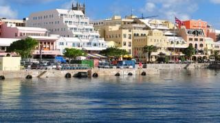Bermuda waterfront photo